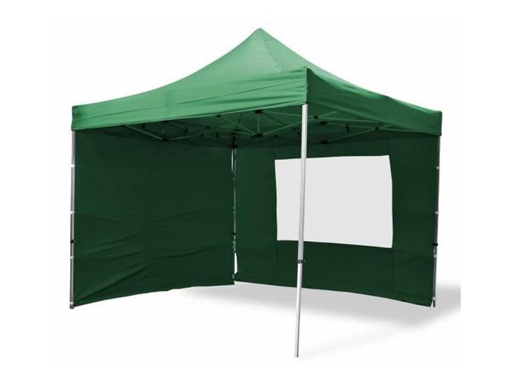 Pawilon Ogrodowy Namiot Handlowy 2,4x2,4 m Zielony Ceny i