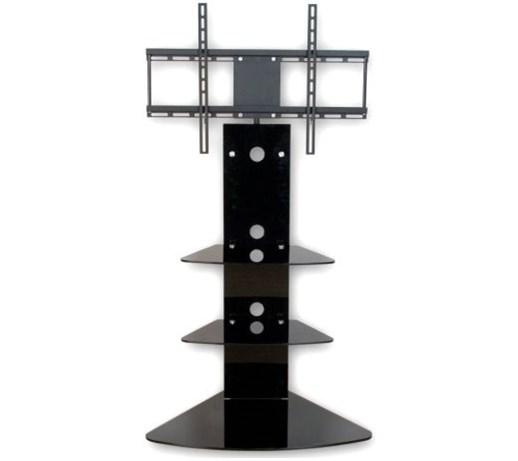 W superbly Stojący uchwyt TV z półkami ze standardem VESA 42'' - Uchwyty i HW87
