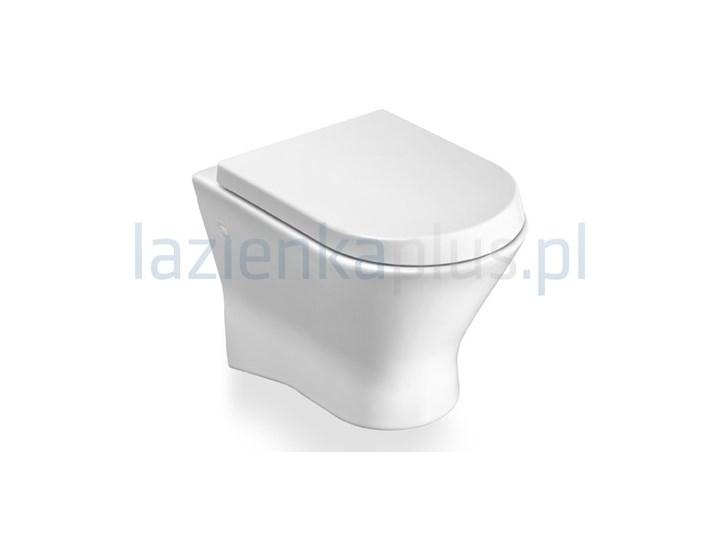 Miska WC podwieszana biała Roca Nexo A346640000 Wisząca Styl skandynawski