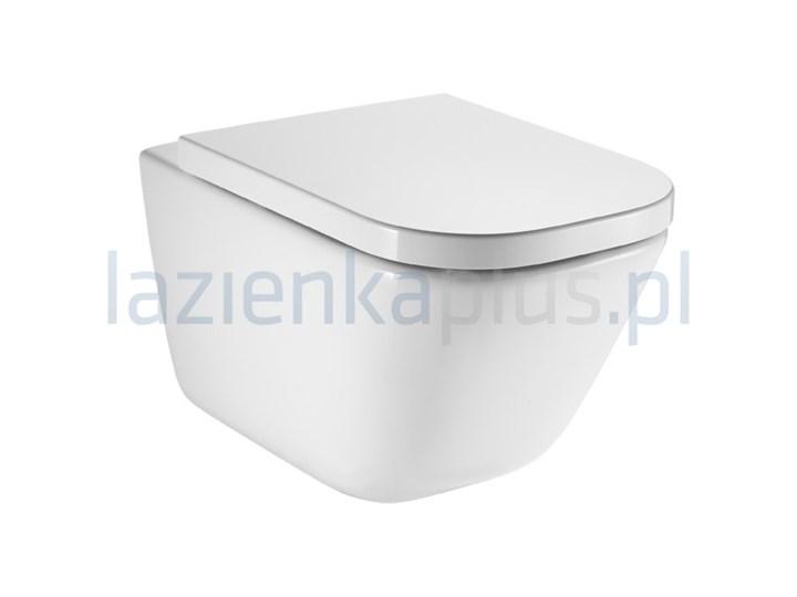 Miska WC Rimless Maxi Clean Roca Gap A34647L00M ceramika Wisząca Styl skandynawski