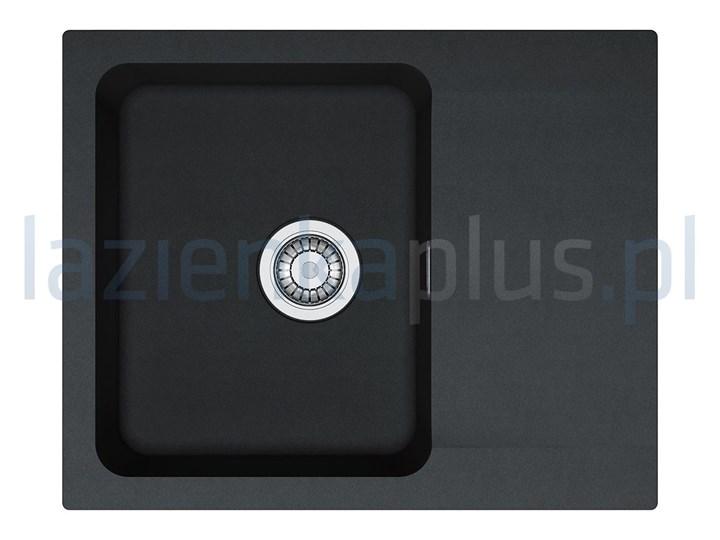 Zlewozmywak 62x50 cm onyx Franke Orion1140286441 Prostokątny Liczba komór Jednokomorowy
