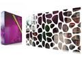 Lustro dekoracyjne Rocks 100x50cm Prostokątne ścienne szkło Styl nowoczesny