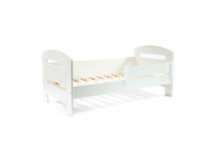 Białe łóżko Dziecięce 140x70 Z Barierką Vista