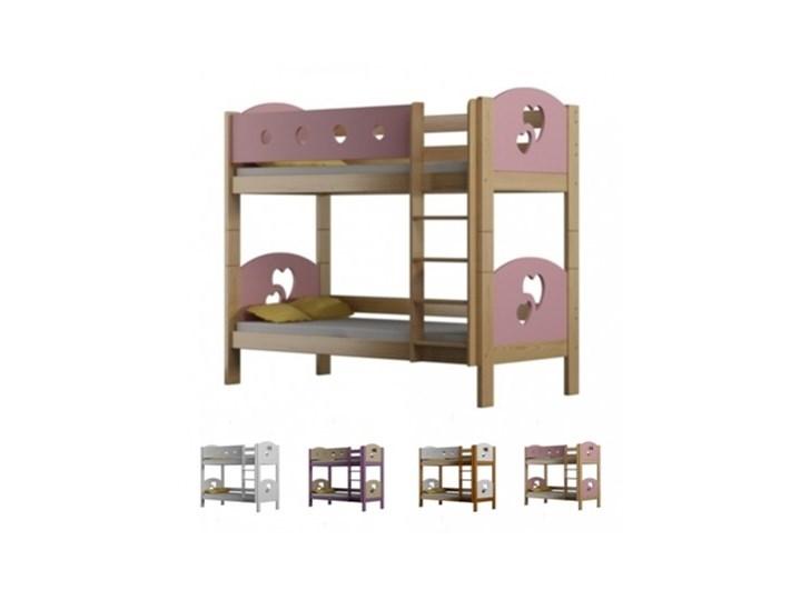 łóżko Piętrowe 160x80 Finezja Serca Kolory
