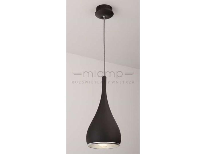 LAMPA wisząca VIGO P0232 Maxlight metalowa OPRAWA zwis kropla łezka IP20 czarna
