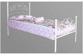 Łóżko metalowe Victoria Baby 90x200
