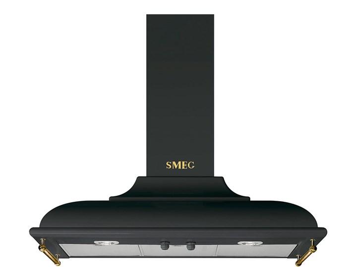 Okap przyścienny SMEG KC19AOE Szerokość 89,5 cm Kategoria Okapy Okap kominowy Sterowanie Mechaniczne