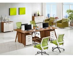 Nowoczesny zestaw biurowy 4-stanowiskowy  EVOLUTIO B105