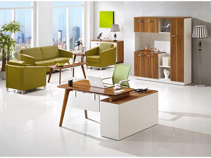 Nowoczesne biurko z pomocnikiem EVOLUTIO A909B