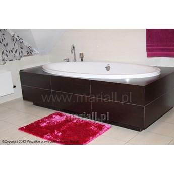 Dywanik łazienkowy D-11 prostokąt amarant