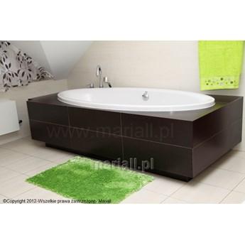 Dywanik łazienkowy D-1 prostokąt zielony