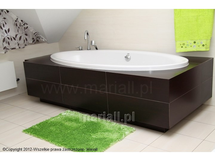 Dywanik łazienkowy D-1 prostokąt zielony Kategoria Dywaniki łazienkowe