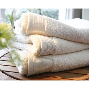 Ręcznik Blanc Des Vosges UNI Kremowy