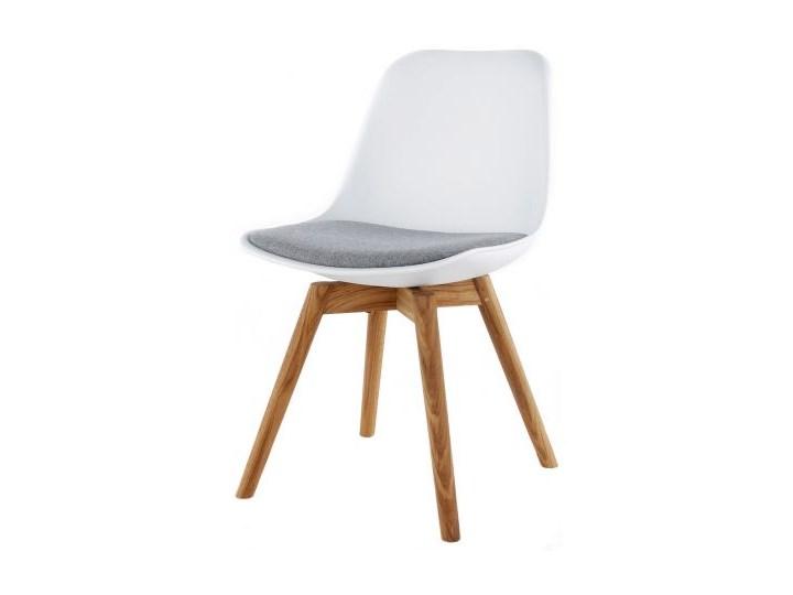 Krzesło Grace Sara biało-szare