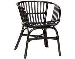 Krzesło Rattan II czarne