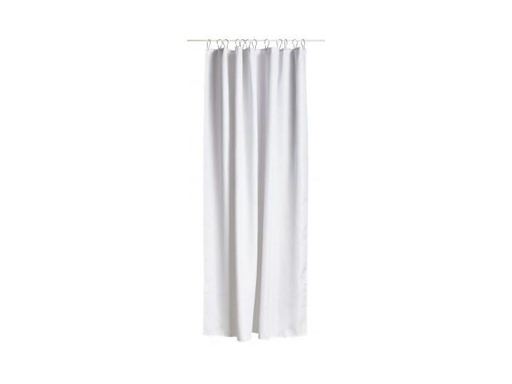 Zasłona prysznicowa Lux 200x180 cm biała