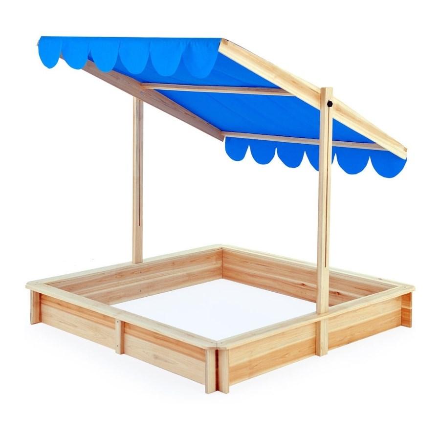 drewniana piaskownica dla dzieci z dachem piaskownice. Black Bedroom Furniture Sets. Home Design Ideas