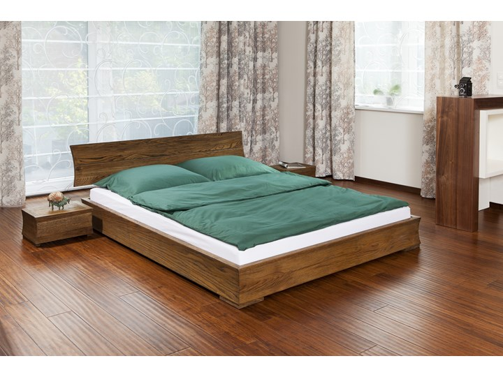 Ruben łóżko Drewniane