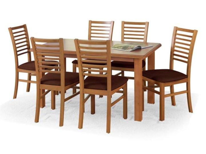Stół EMIL - POLECA nas aż 98% klientów - ZAMÓW (91 822 80 55) Rozkładanie Długość 140 cm  Drewno Metal Wysokość 74 cm Płyta MDF Styl Klasyczny