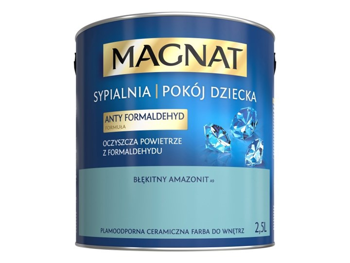 Farba Do Sypialni Pokoju Dziecka Magnat Błękitny Amazonit