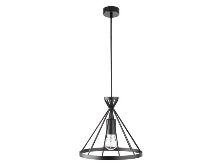 Lampa wisząca Nowum 1 x 60 W E27 czarna Lampy wiszące