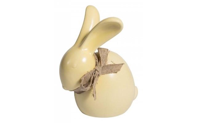 f52b17b42fa7d4 Figurka Belldeco - Zając Wielkanocny - żółty - Figurki wielkanocne -  zdjęcia, pomysły, inspiracje - homebook