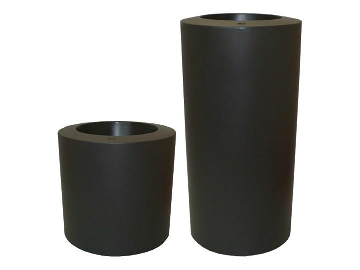 TUBINI 50/50 - antracyt Donica ogrodowa Plastik tworzywo sztuczne