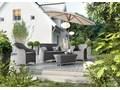 Meble ogrodowe LEONARDO royal piaskowe Zestawy wypoczynkowe Tworzywo sztuczne Rattan Technorattan Aluminium Kategoria Zestawy mebli ogrodowych