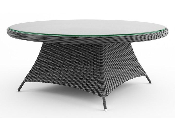 Meble ogrodowe RONDO ø180 royal piaskowe Rattan Technorattan Aluminium Tworzywo sztuczne Zawartość zestawu Fotele