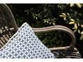 Fotel rattanowy bujany MARSEILLE biały przecierany Bujane Kategoria Fotele ogrodowe