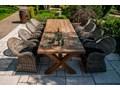 Meble ogrodowe LYON II Stoły z krzesłami Rattan Zawartość zestawu Krzesła