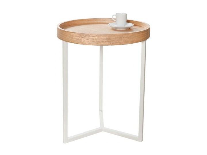Stolik kawowy Modul drewniano-biały