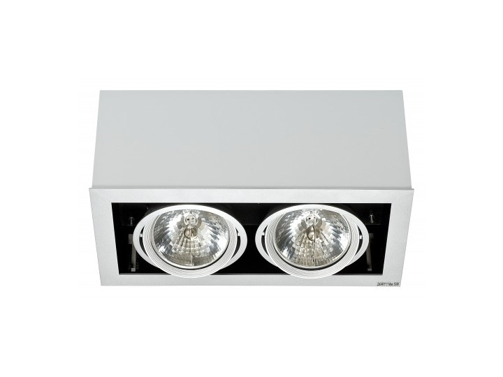 Plafon lampa sufitowa Box 5306 Nowodvorski 2x50W halogenowa oprawa natynkowa biały - wysyłka w 24h