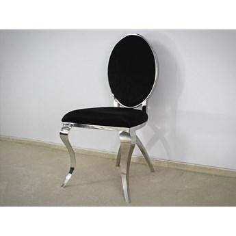 Krzesło Abrillo Glamur Black