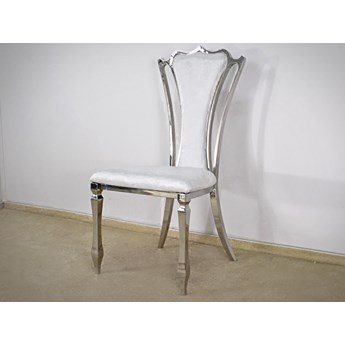 Krzesło Castill Glamur White Pearl