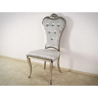 Krzesło Villoso Glamur Silver
