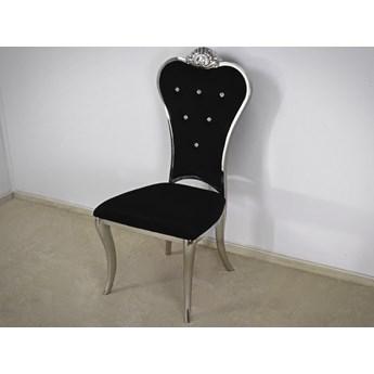 Krzesło Villoso Glamur Black