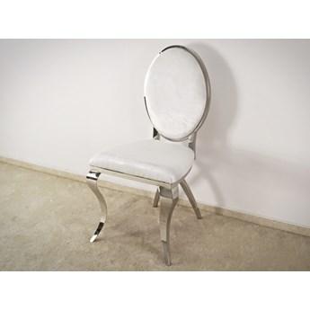 Krzesło Abrillo Glamur Withe