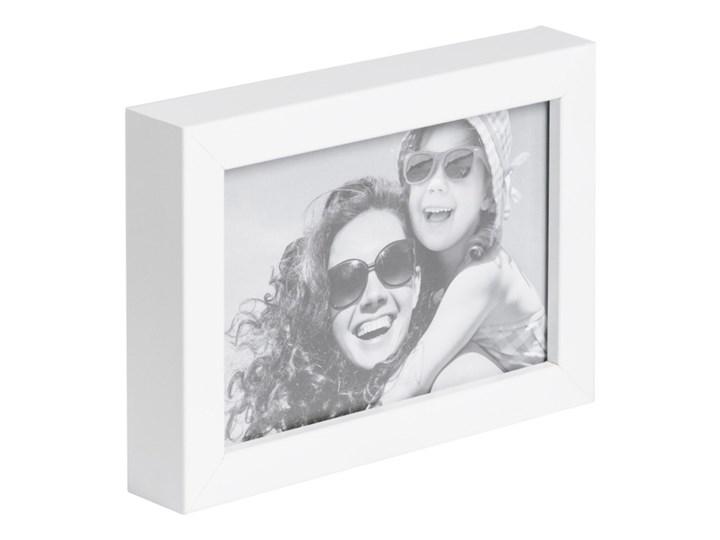 Foto ramka Simple 10 x 15 cm biała Rozmiar zdjęcia 10x15 cm Drewno płyta MDF Ramka na zdjęcia Styl klasyczny