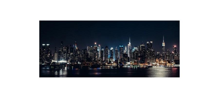Obraz Glasspik Night 50 X 125 Cm Obrazy Zdjęcia Pomysły