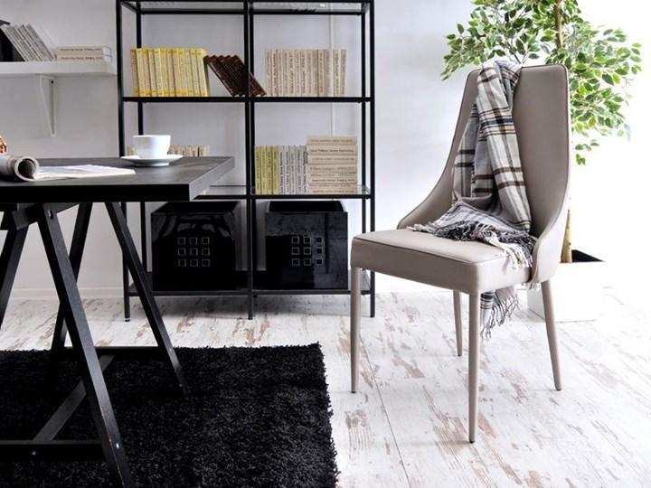 Krzeslo Tapicerowane Do Jadalni Bolzano Bezowe Krzesla Kuchenne