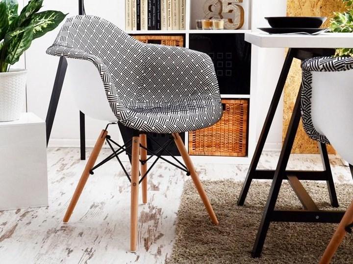 Krzesło Tapicerowane Do Jadalni Mpa Wood Tap Modern Krzesła
