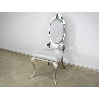 Krzesło Lucillo Glamur Silver