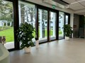 ETRIA XXL 64/52 - biały Plastik tworzywo sztuczne Donica balkonowa Donica ogrodowa Ceramika Styl klasyczny