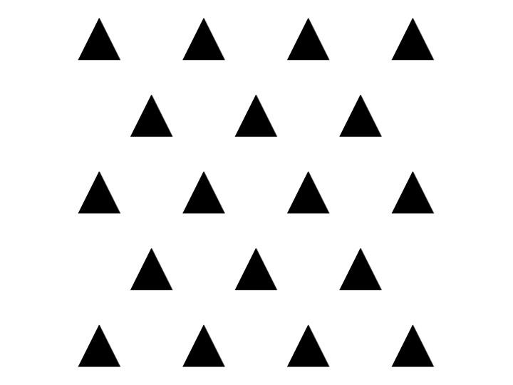 Dekoracja ścienna 3d Trójkąt 20 Szt Geometric Czarna Kod Ds 711339