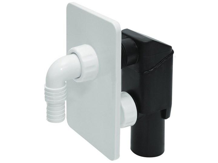 Syfon Pralki Podtynkowy Biały Tycner Syfony łazienkowe Zdjęcia