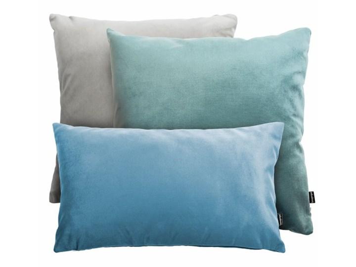 Szaro-miętowy zestaw poduszek Velvet