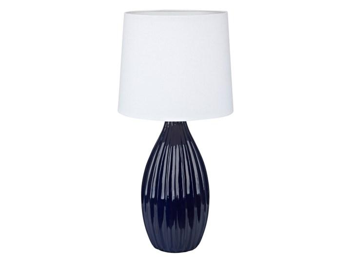 Lampa Stolowa Stephanie E27 1 X 60 W Niebieska Lampy Stolowe