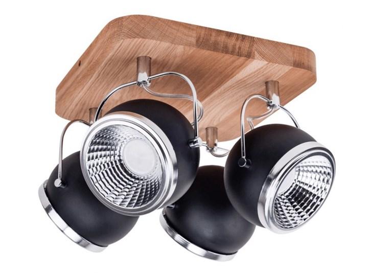 Lampa sufitowa Spotlight Ball Wood LED 5033474 Styl nowoczesny metal drewno Styl klasyczny