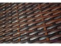 Komplet mebli z technorattanu dla 4 osób CARINO ogrodowe wiklina Aluminium Tworzywo sztuczne tkanina drewno Stoły z krzesłami Zawartość zestawu Krzesła Zawartość zestawu Stół